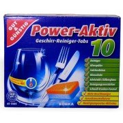 GUT & GUNSTIG Power Activ 10  tabletki do zmywarki