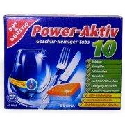 GUT & GUNSTIG Power Activ 10  tabletki do zmywarki