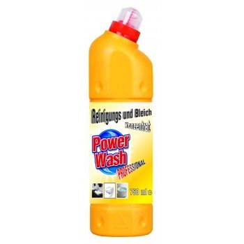 POWER WASH 750 ml Żel do WC żółty