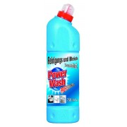 POWER WASH 750 ml Żel do WC niebieski