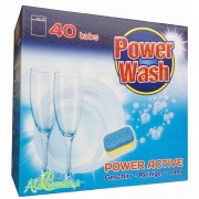 POWER WASH 40 Tabletki do zmywarki