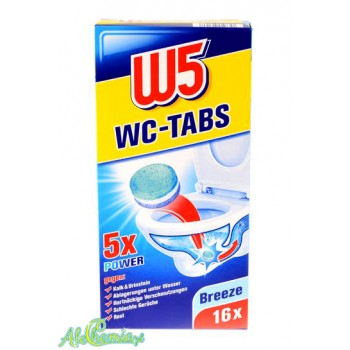W5 WC Tabs 16 Breeze Tabletki do WC