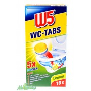 W5 WC Tabs 16 Lemon Tabletki do WC