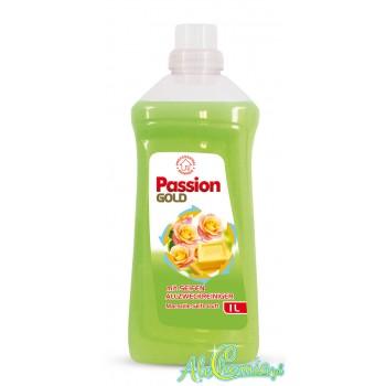 Passion Gold mit Seifen Allzweckreiniger Marseille- Seife Duft 1l